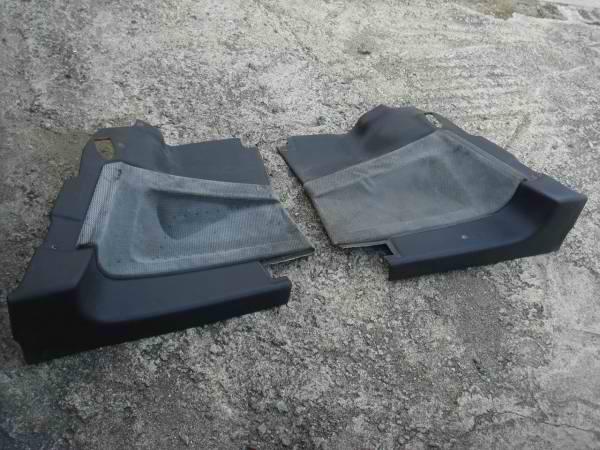 AE86 GT Apex Rear Side Pods 2 Dr