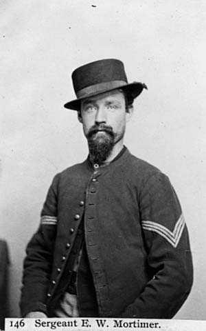 Sgt. E.W. Mortimer, 5th MN. Co. F