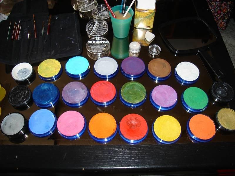 Paints I use