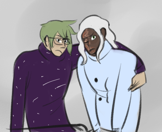 sweater bfs (digital fanart)