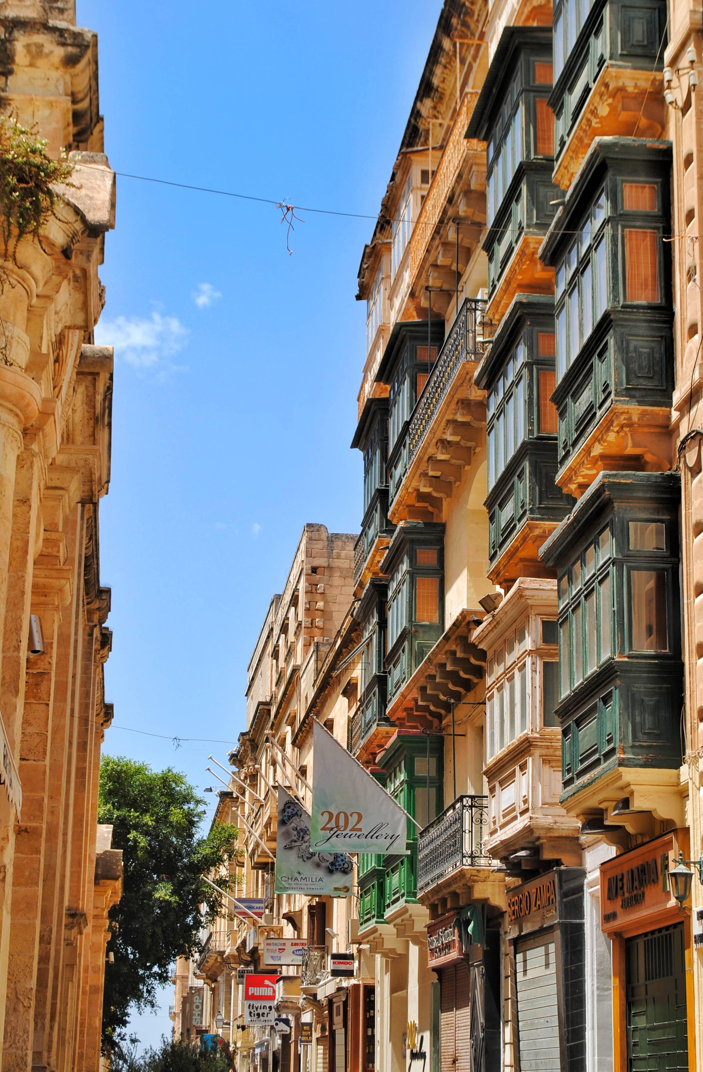 Malte?ki balkoni - najtipičniji elementi malte?ke arhitekture