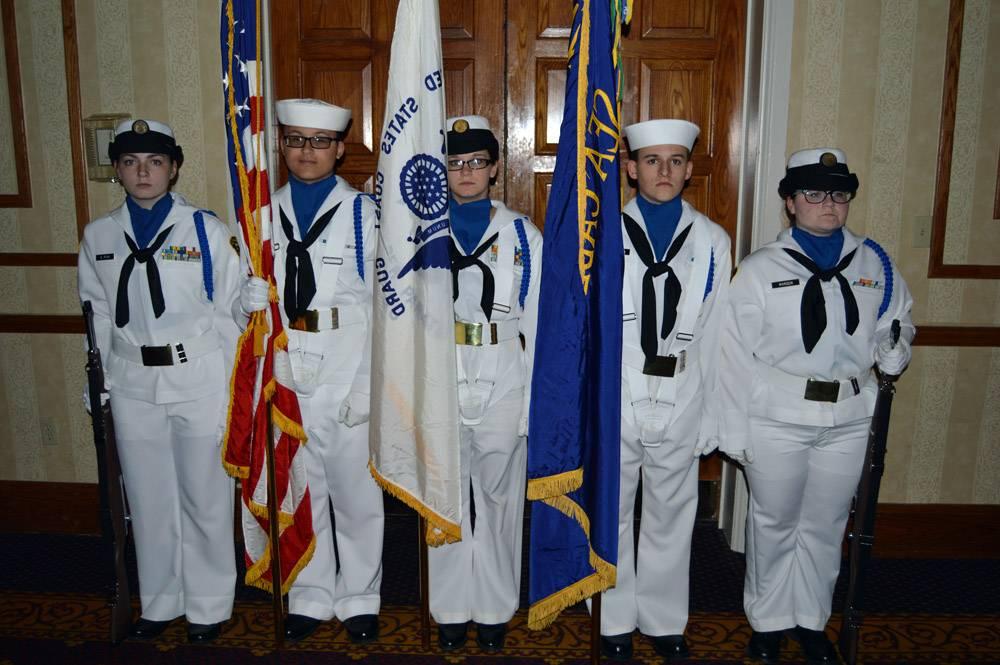 Our Sea Scout Color Guard