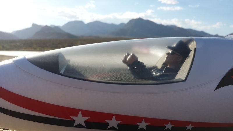 ROC Hobby V-tail Cockpit