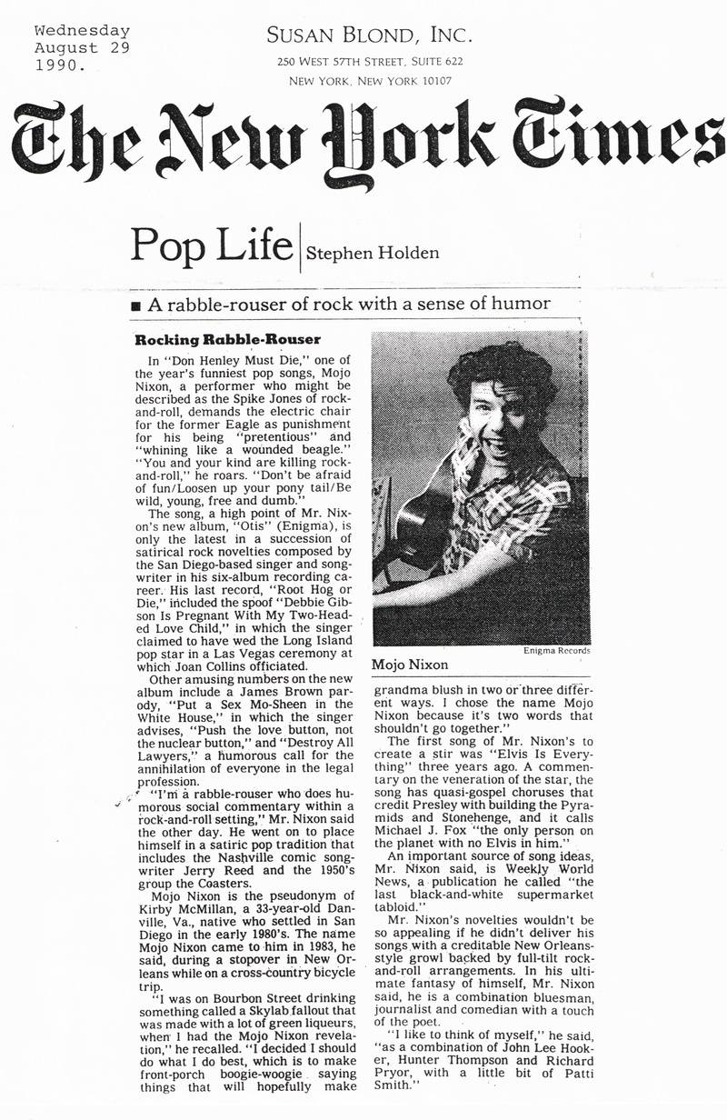 New York Times 29 August 1990