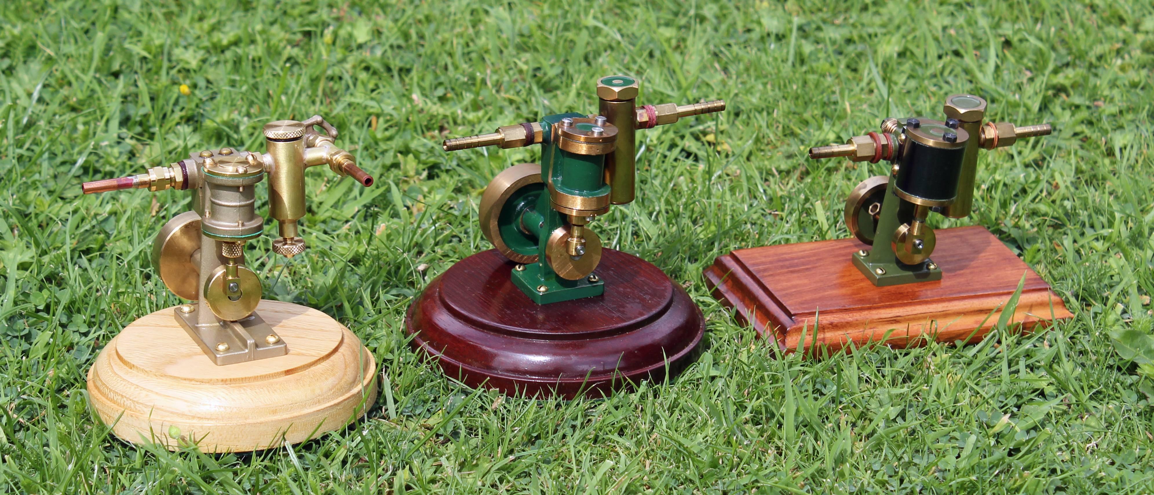 Model Oscillating Engines