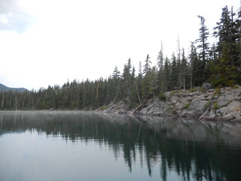 North end of the lake