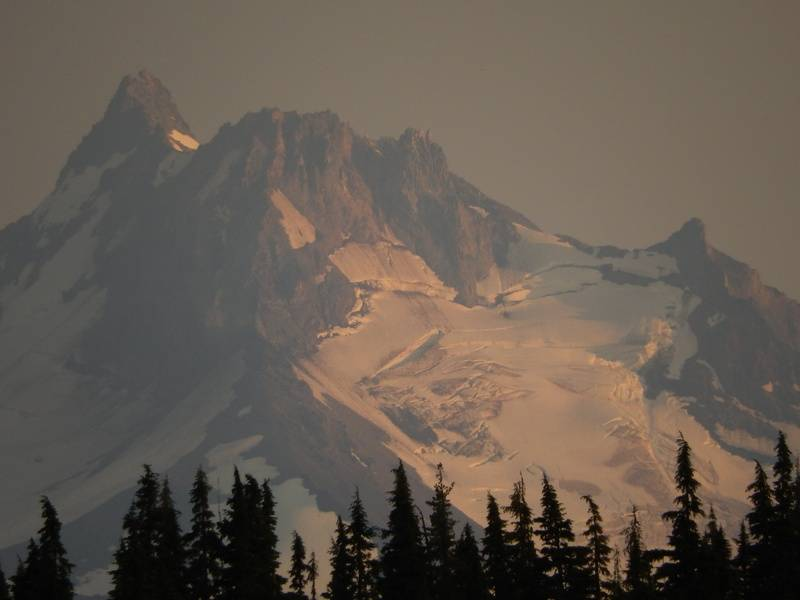 Late afternoon Mt. Jeff