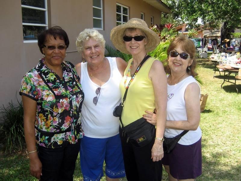 Darcy, Kristine, Karen, Bonnie F.