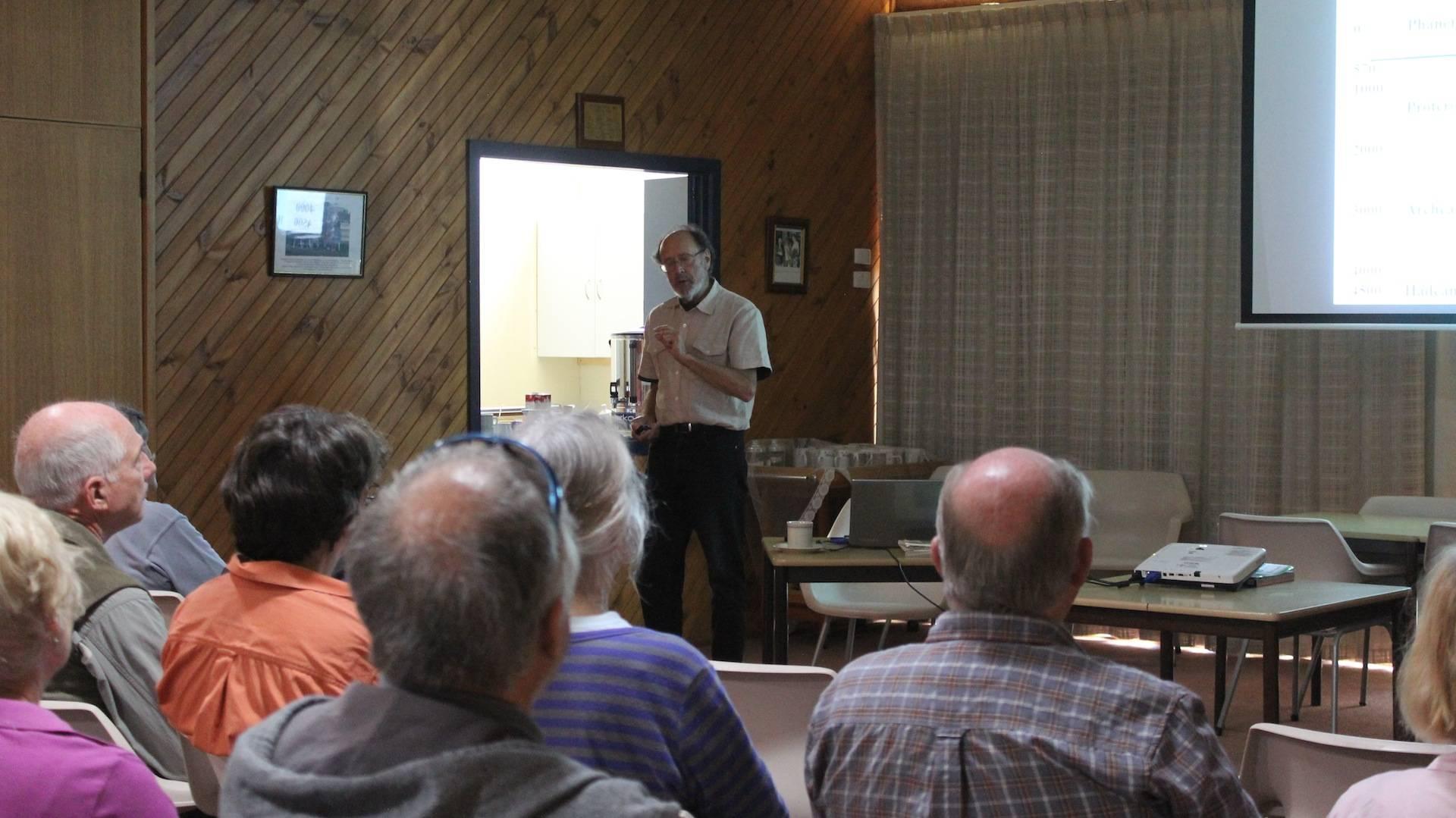 Neville's talk at Inglewood Elderly Cits.
