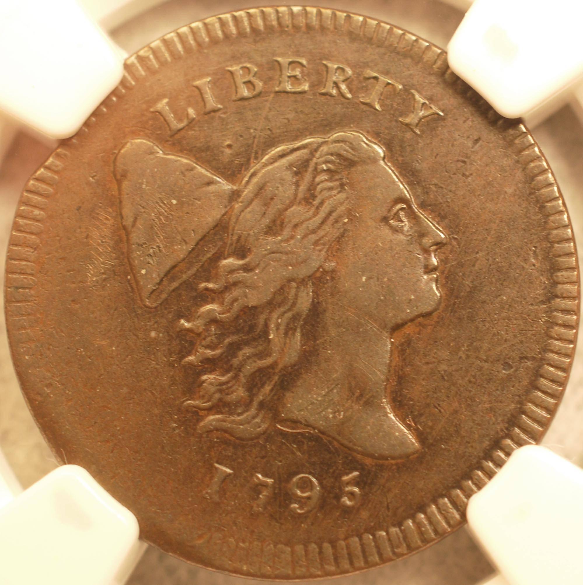 1795 Half Cent Obverse