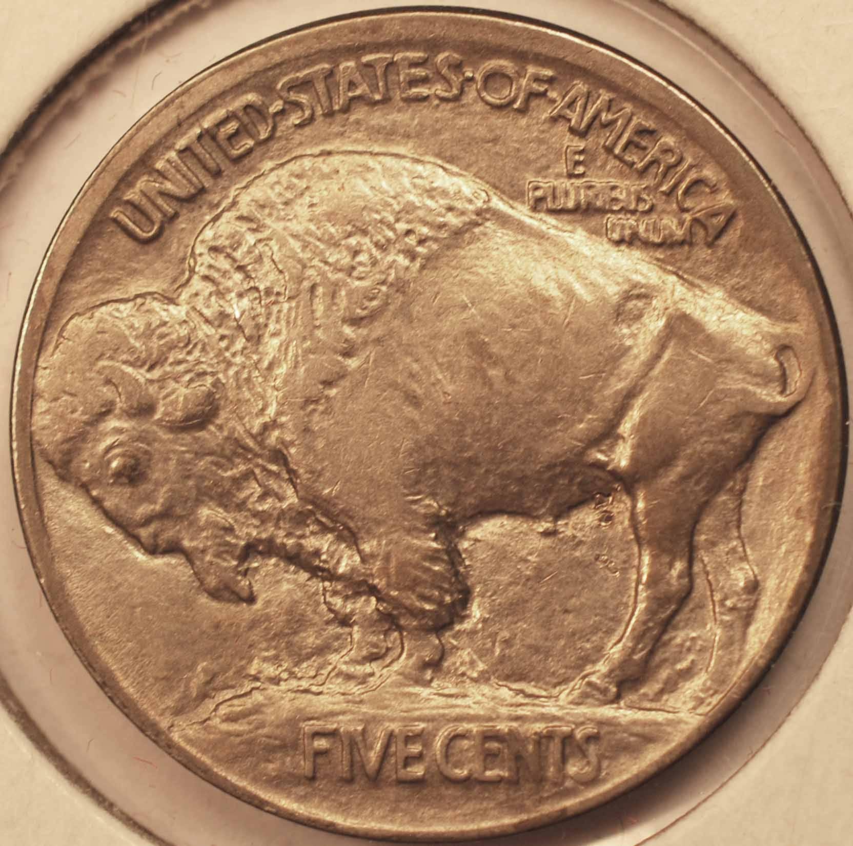 1913 Type 1 Buffalo Nickel BU