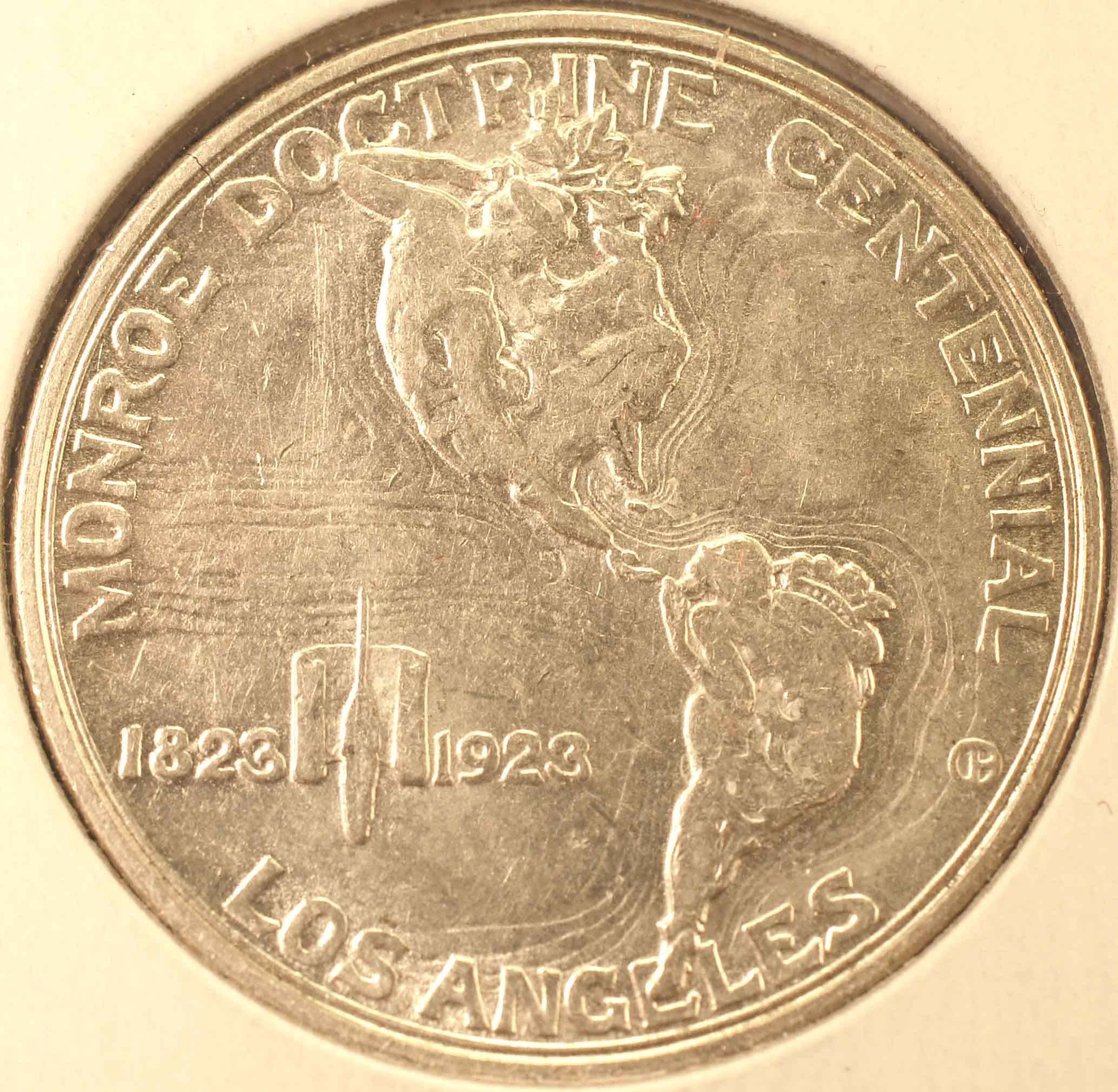1923-S Monroe Half (reverse)