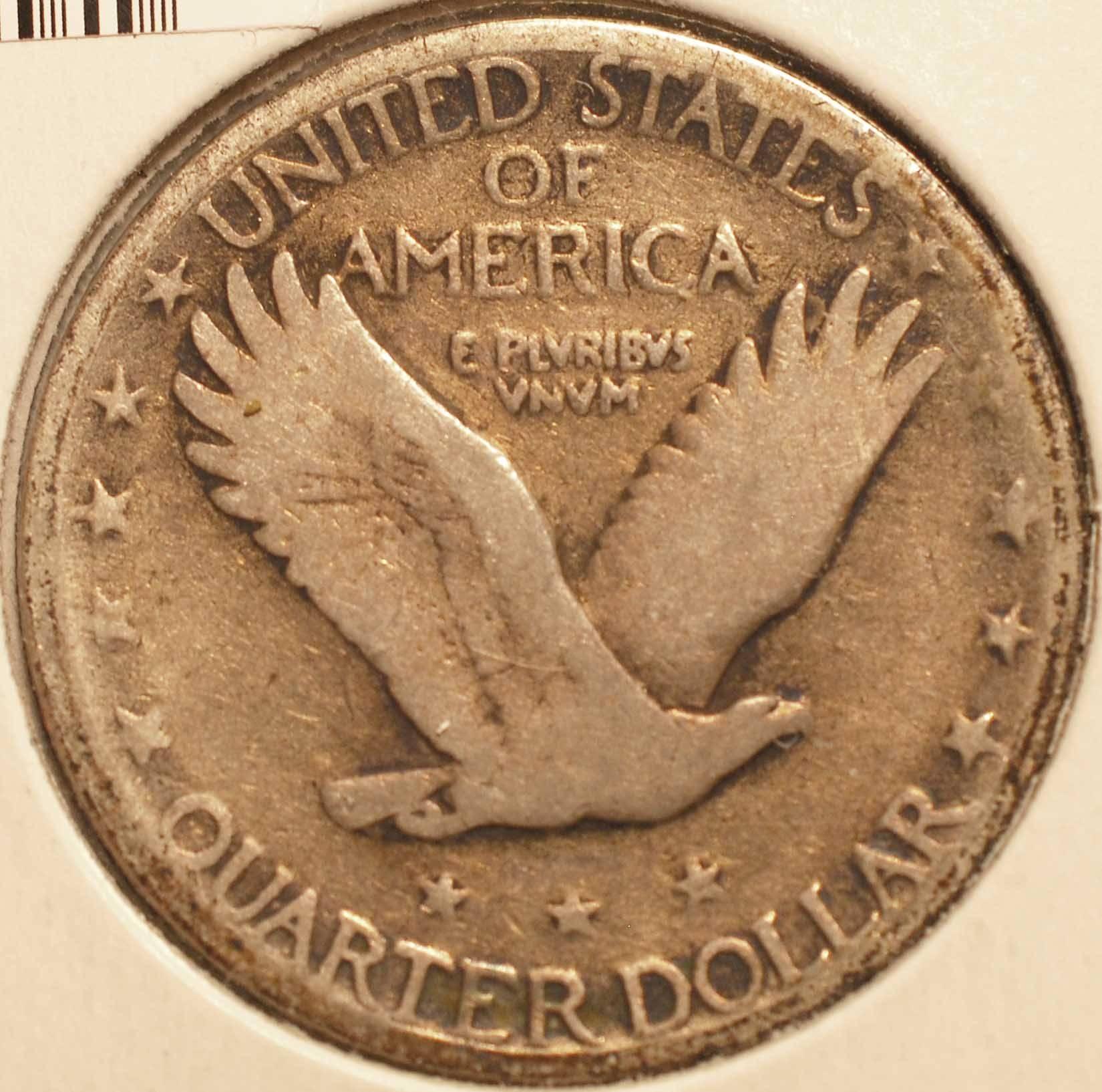 1927-S Standing Liberty Quarter reverse