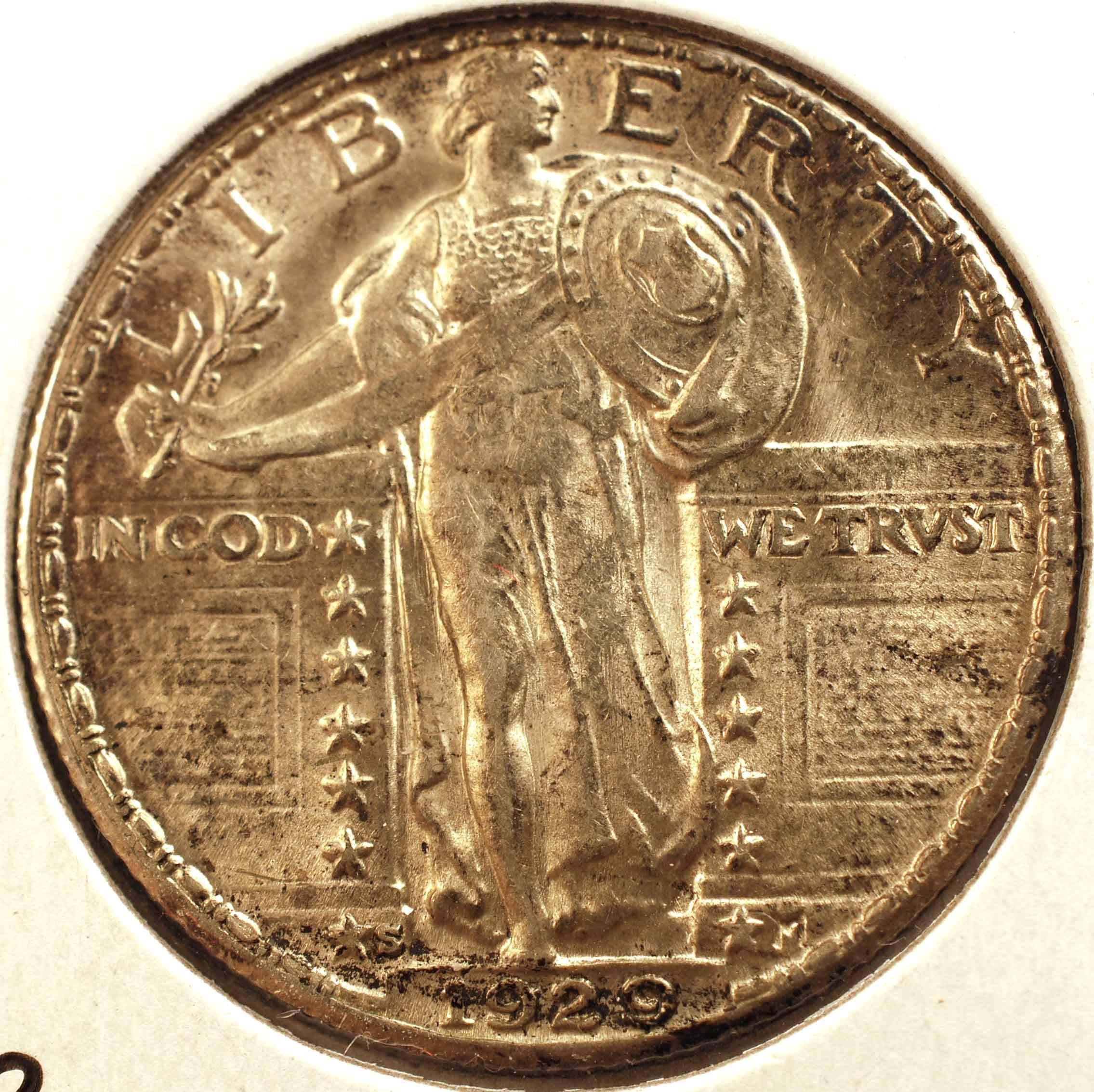 1929-S Standing Liberty Quarter MS-63