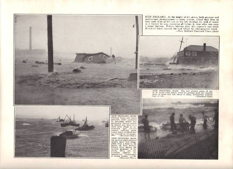 1938 Hurricane Historical Record