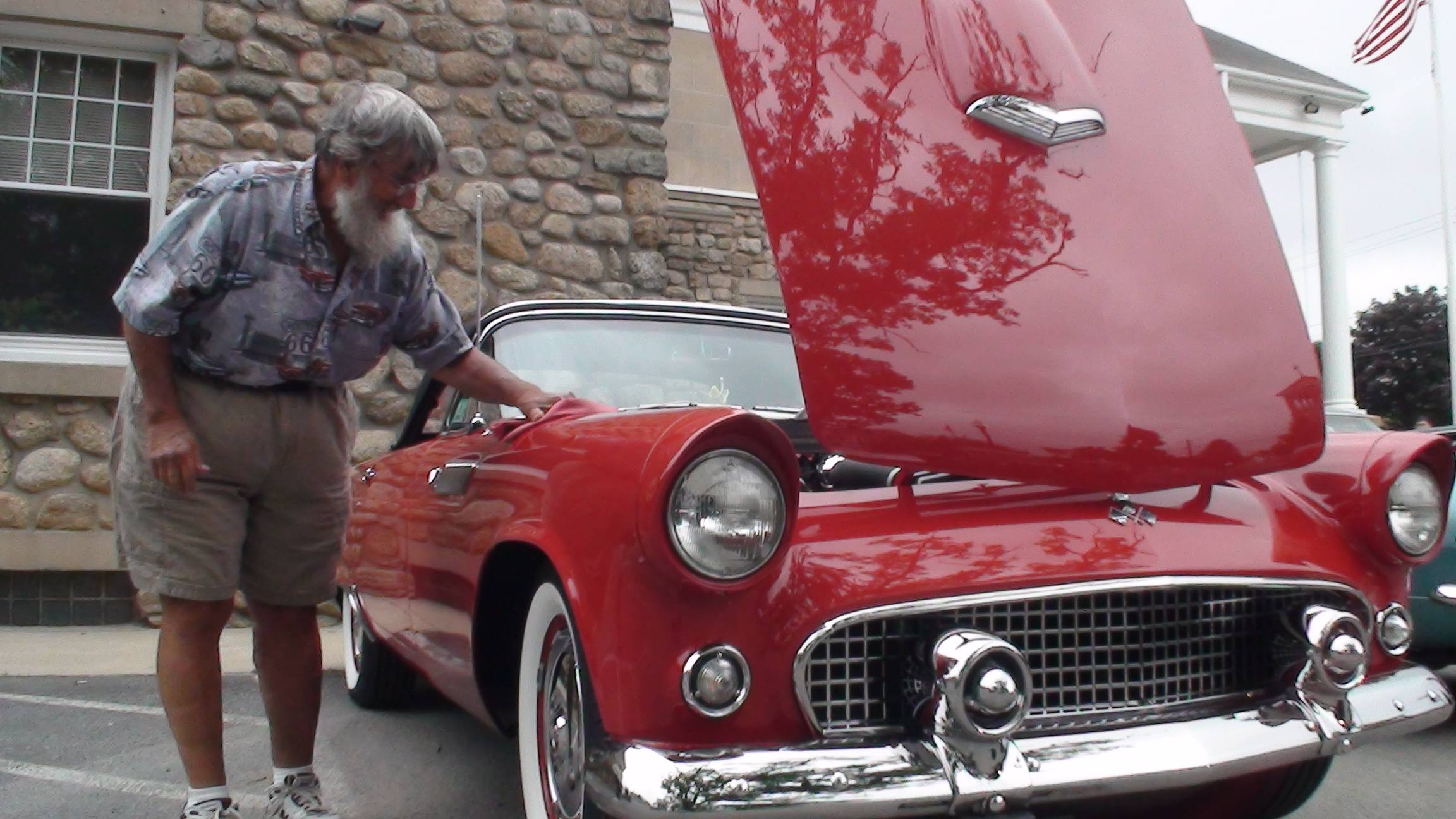 1955 Thunderbird with a great story