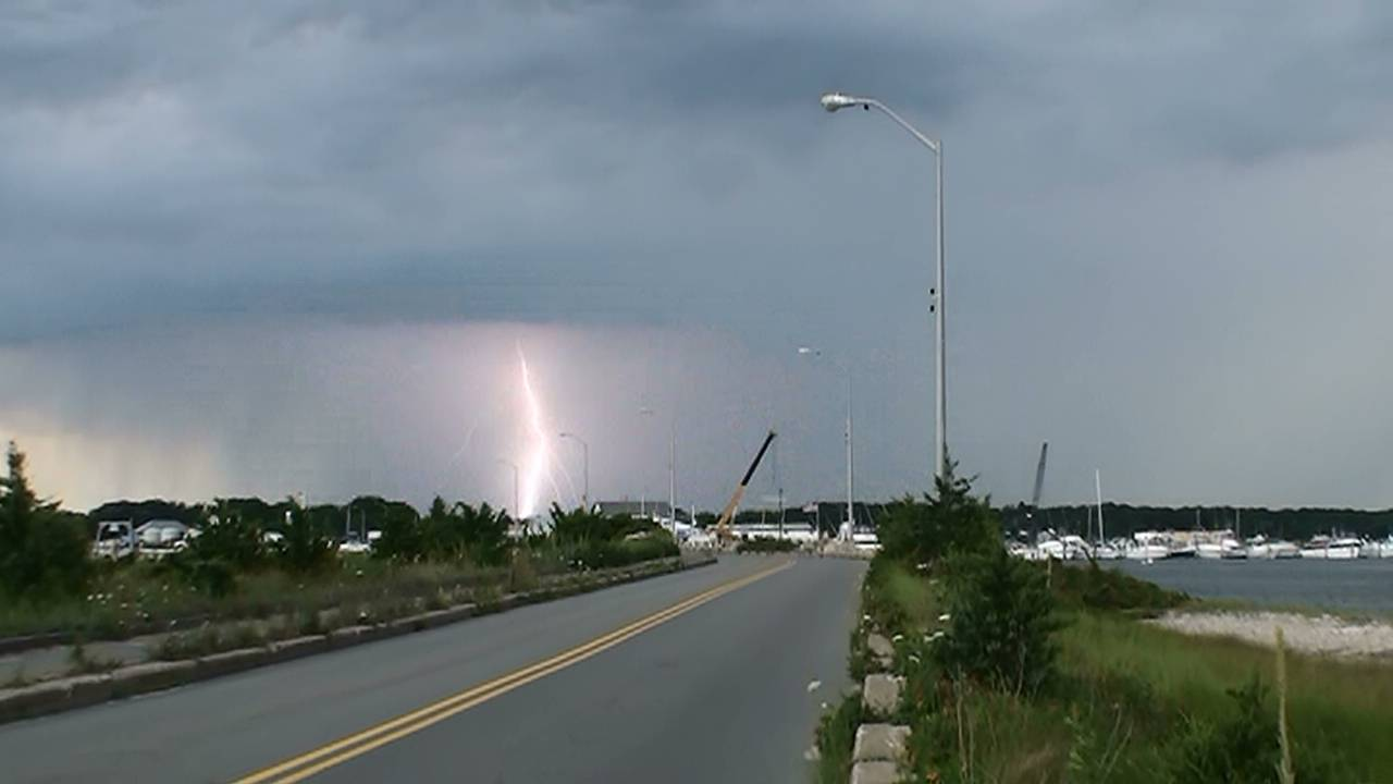 Bolt at end of the Causeway