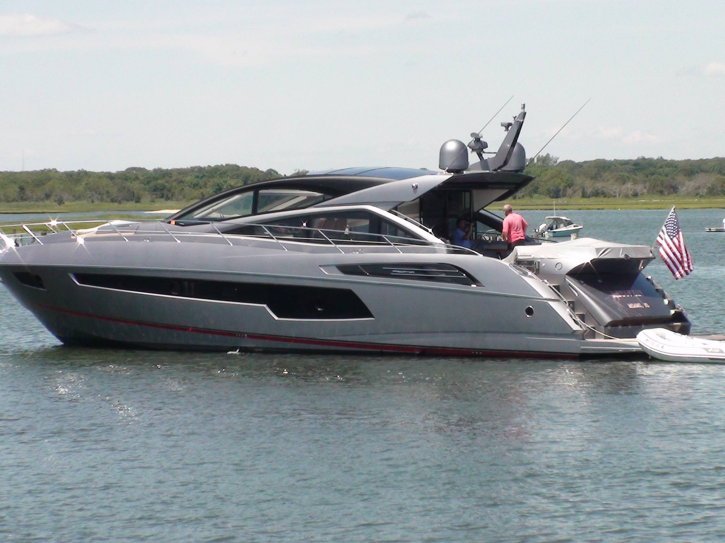 "Motor Yacht ""RECOVERY"" visits West Island, Fairhaven, MA"