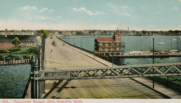 The New Bedford Yacht Club  c1910