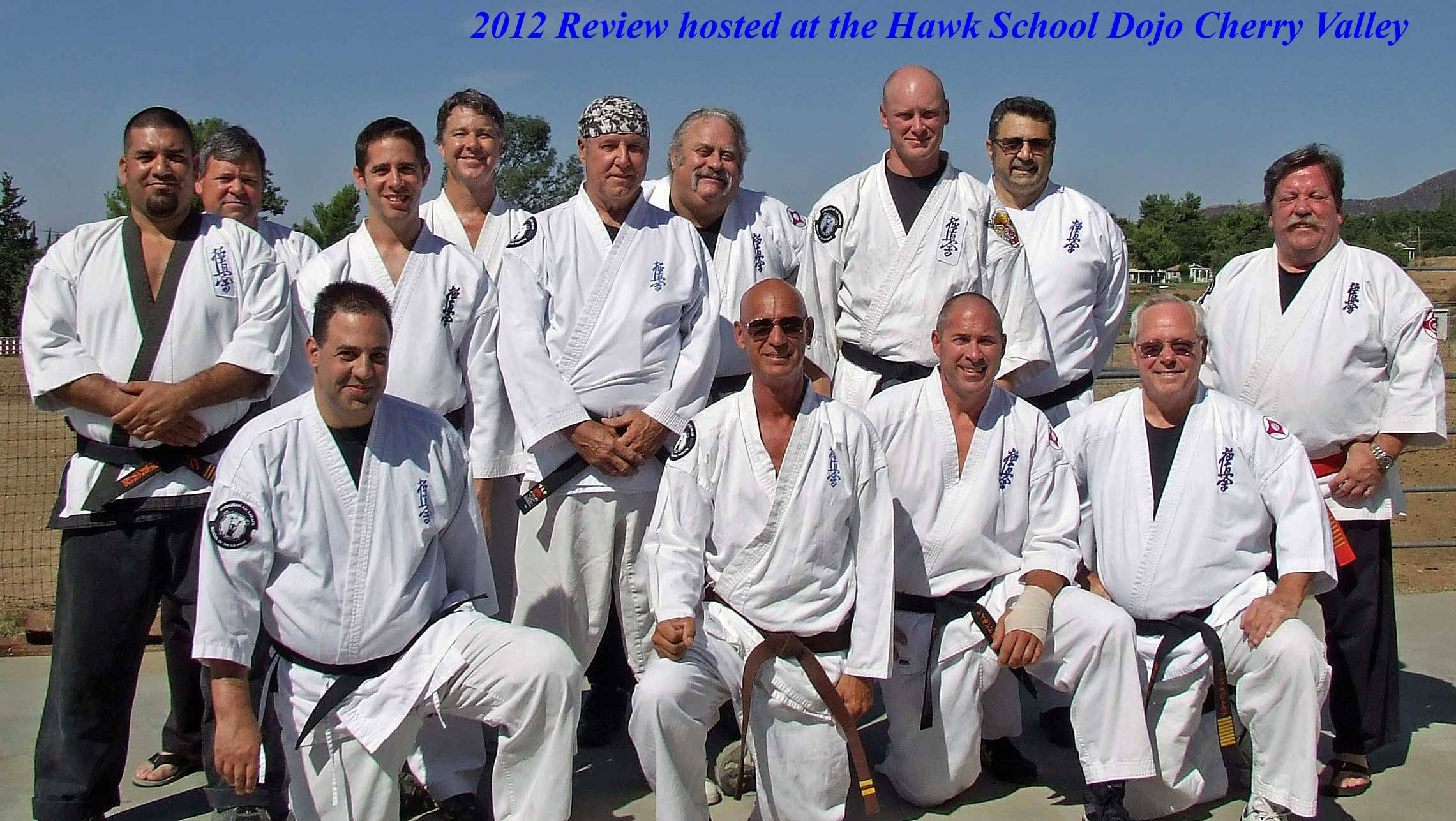 2012 Blackbelt Review at Hawl School