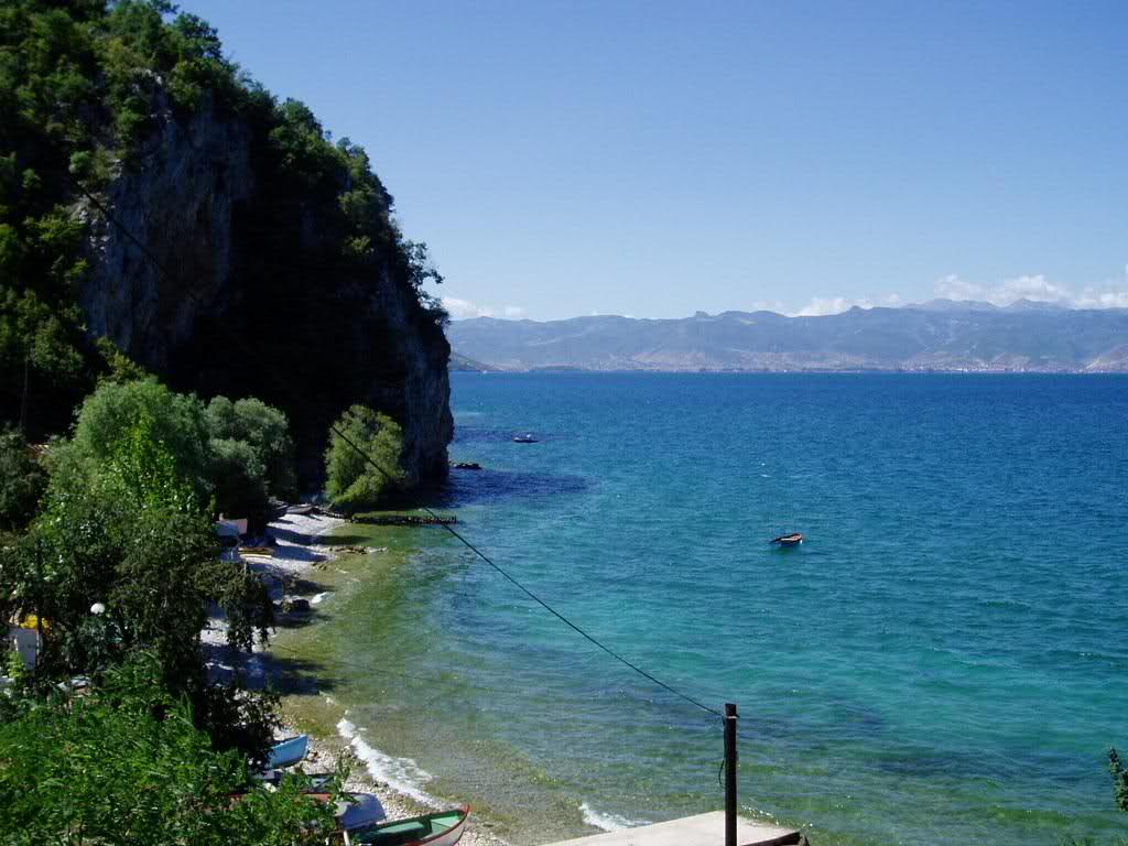 View of Lake Ohrid - Macedonia