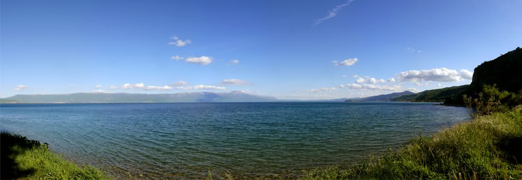 Lake Ohrid View
