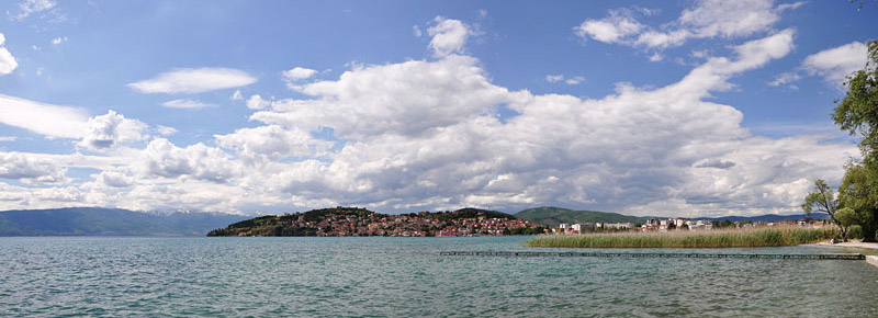 Ohrid Panorama View