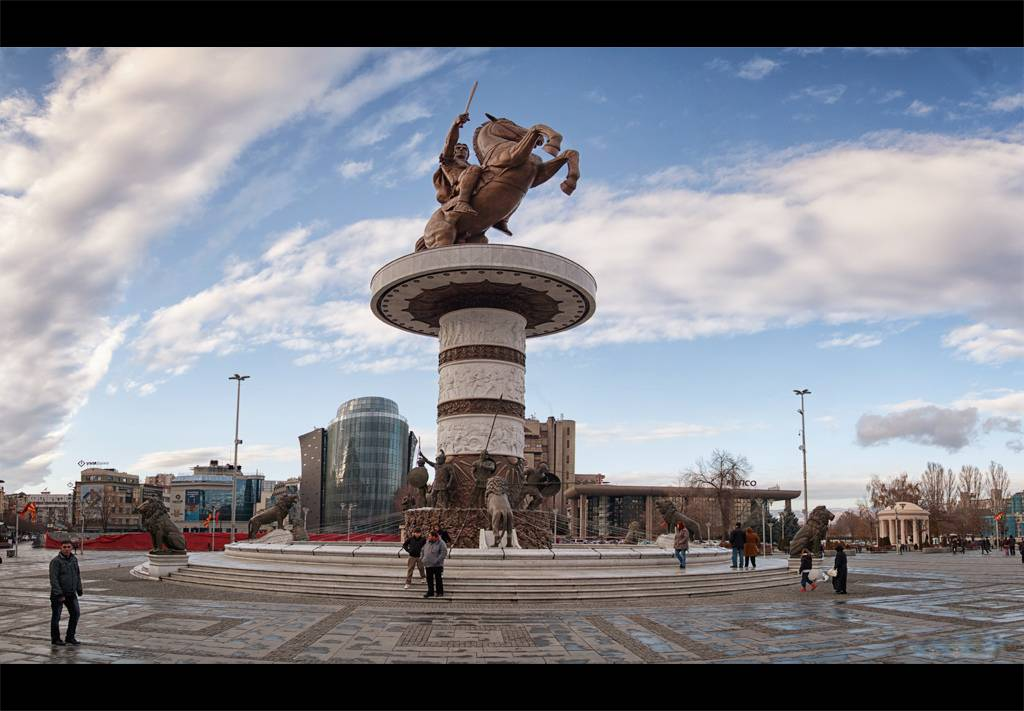 Macedonia's Hero - Alexander the Great in Skopje