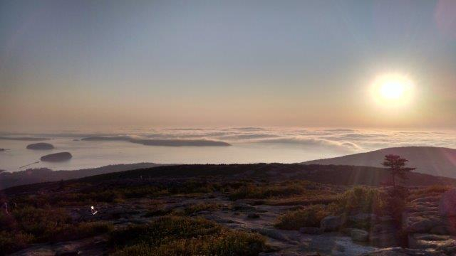 Cadillac Mountain Summit Sunrise
