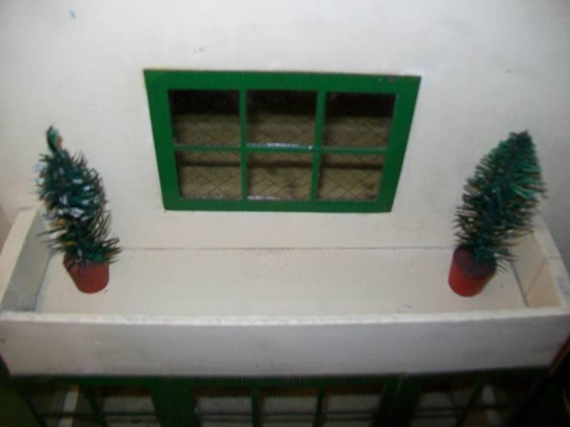 Front upper window.