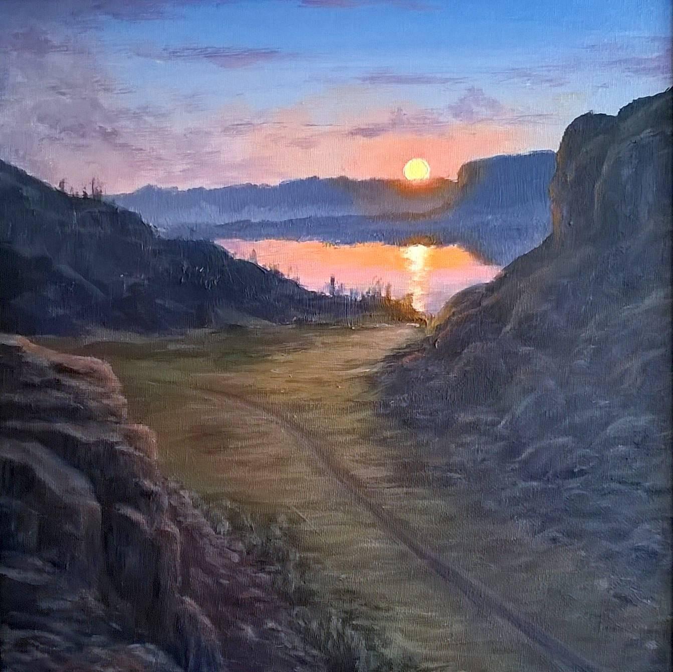 Northrup Canyon Sunset