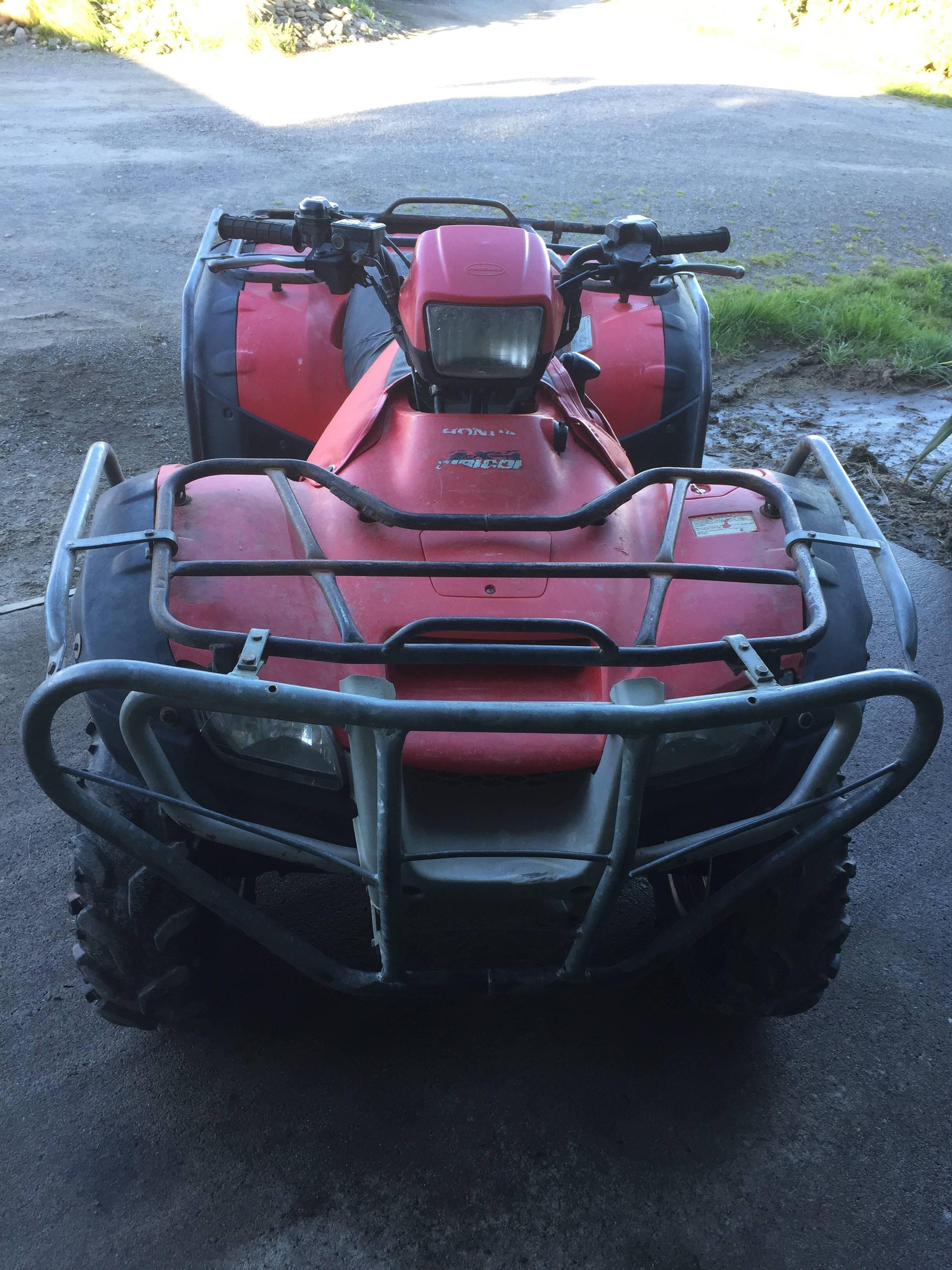 Honda TRX500FA, 2011