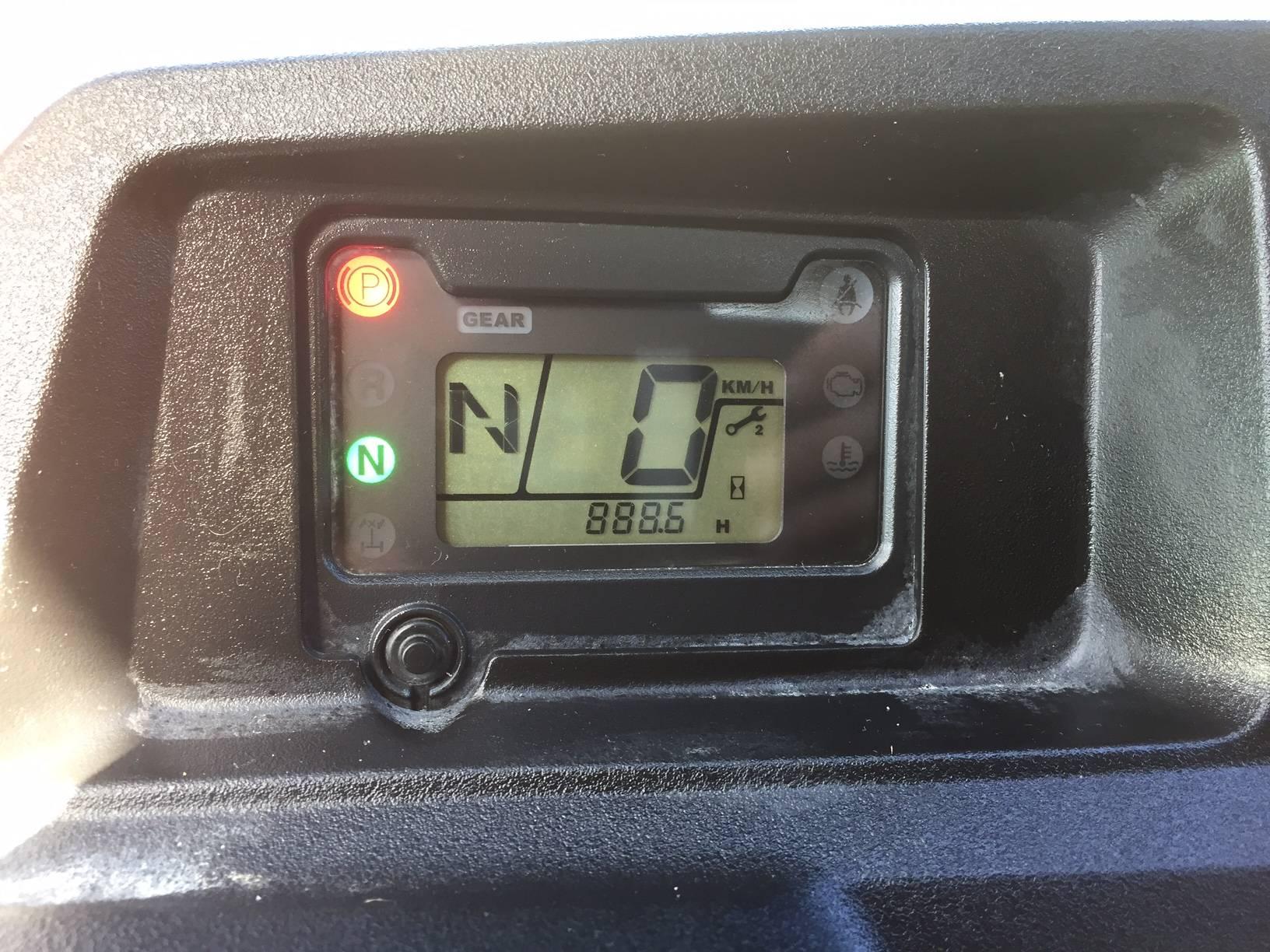 Honda SXS700, 2014