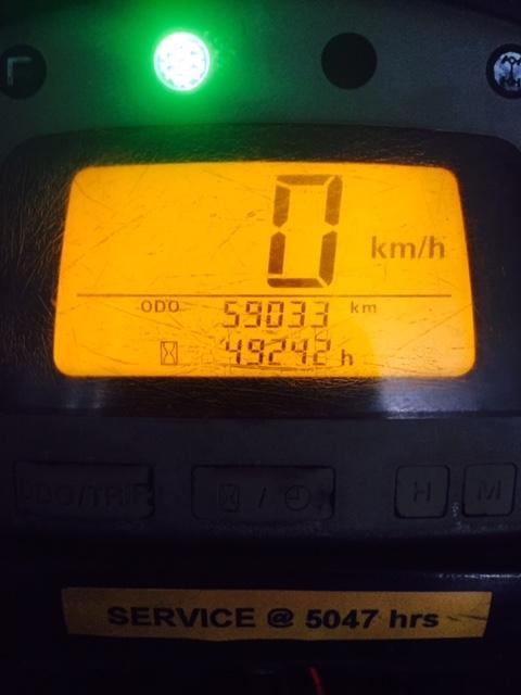 Honda TRX450FM, 2003
