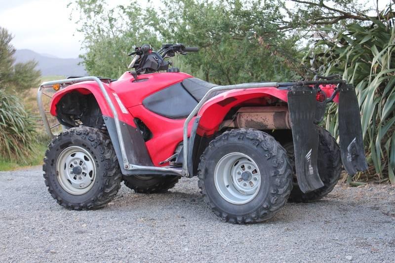 Honda TRX420FPM, 2010