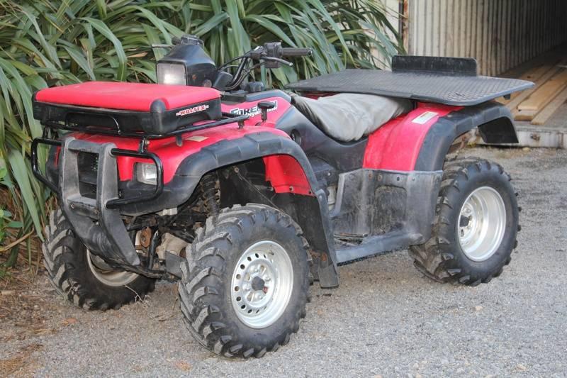 Honda TRX500FA, 2003