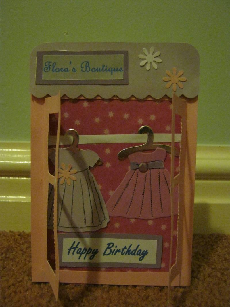 Boutique Birthday Card