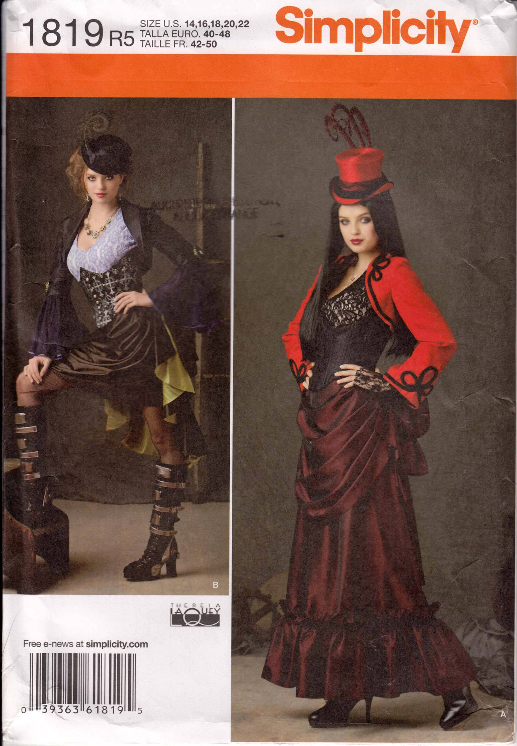 New steampunk pattern by Simplicity