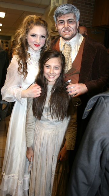 Fantine, Jean Valjean and Young Cosette
