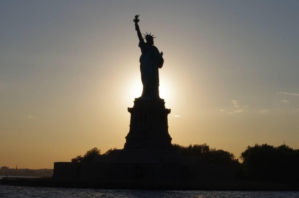 Lady Liberty Glowing