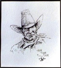 Pen & Ink Cowboy