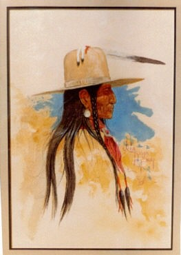 Blackfoot look of the early 1900's.