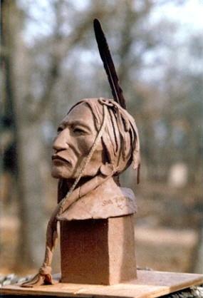 Lakota Warrior (Clay)