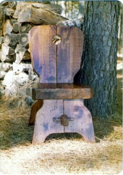 This is one of ten chair's I built along with an eight foot long tableover 35 years ago and we're still using them..