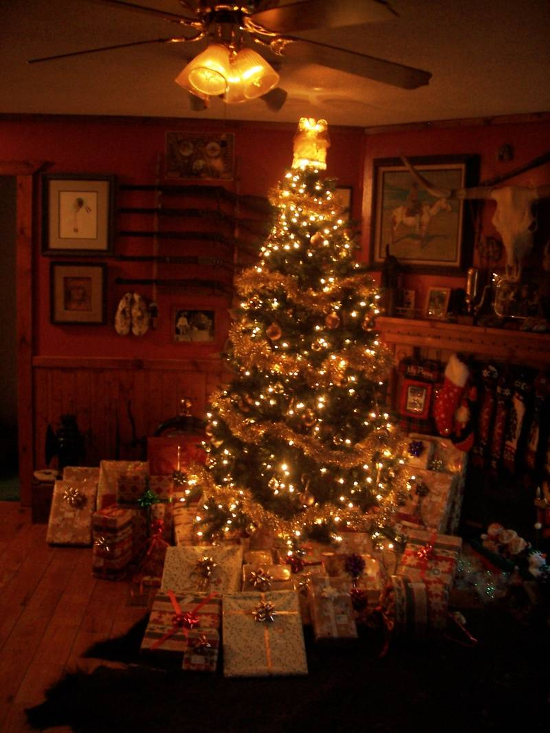 Christmas at the Seay Ranch and Home.