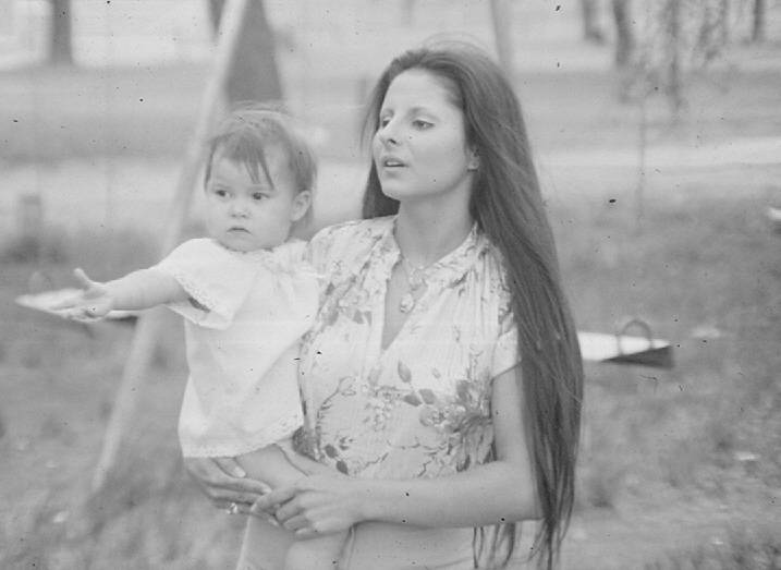 Little Fawn Raven and my wifeTwo Star about  1978