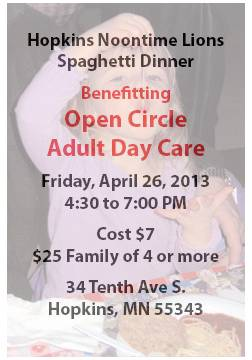Open Circle April 26th, 2013