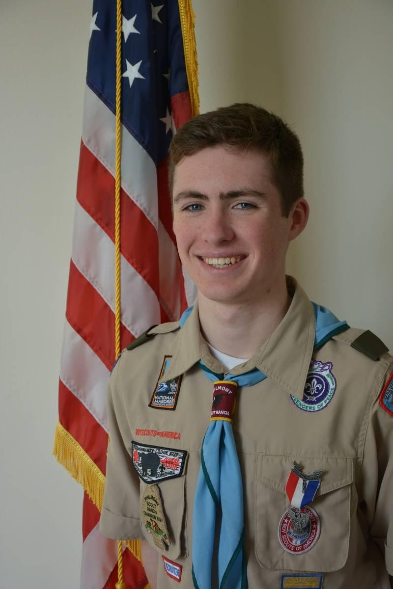 Eagle Scout Zachary Parrott