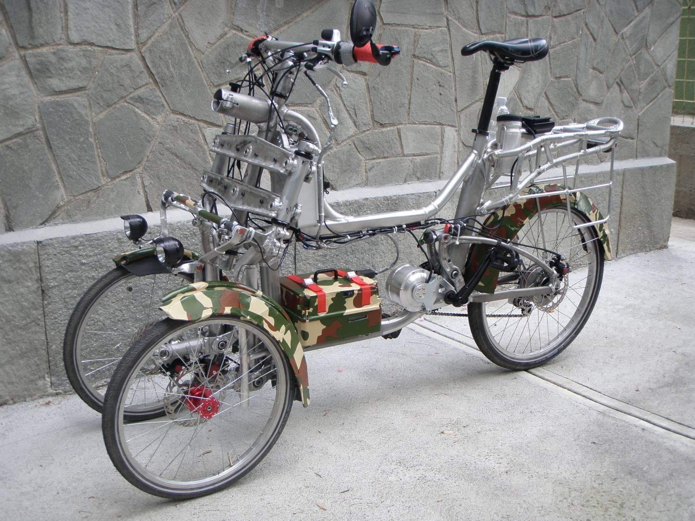 three wheels bicycle