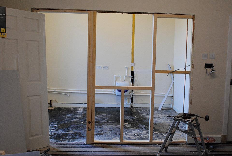 Kitchen before...